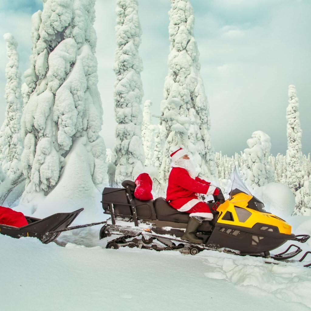 visitar a Papá Noel